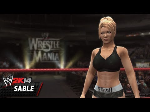 Wwe 2k14 Community Showcase: Sable (playstation 3) video