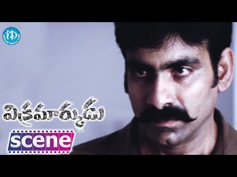 Vikramarkudu Movie - Ravi Teja Amit Nice Action Scene