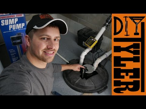 D2D DIY How to Install a Sump Pump