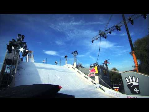 WORLD PREMIERE: Group Run of 4 freestyle sports - freestyle.ch Zurich 2012