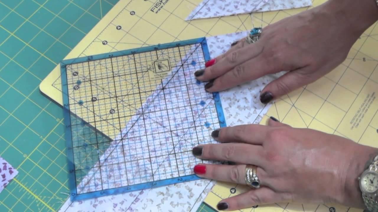 Diagonales de patchwork sencillas youtube - Como hacer colchas de patchwork ...