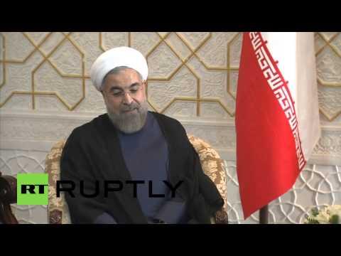 Tajikistan: Putin and Rouhani boost bilitateral relations in SCO talks