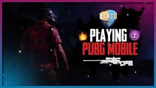 1st Face'Scam Stream | without Gyroscope 6x Spray & Pray  | PUBG Mobile live