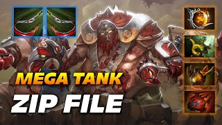 ZIP FILE PUDGE - MEGA TANK - Dota 2 Pro Gameplay [Watch & Learn]