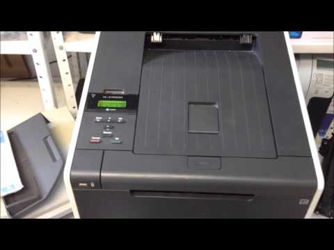 Reset do toner -  Brother HL-4150