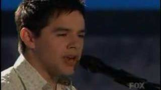 Клип David Archuleta - Angels (live)