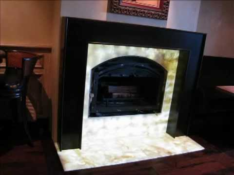 Translucent Onyx Lighting Countertop Lighting