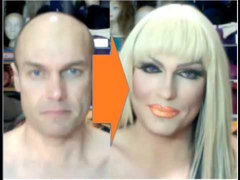 Male-to-Female Transformation #2: Drag Make-Up Tutorial