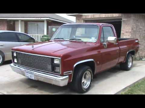 86 CHEVY 454 SS 500HP Video