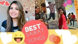 Sairat Songs Reaction Sairat Zhala Ji And Yad Lagla - Best Marathi Songs