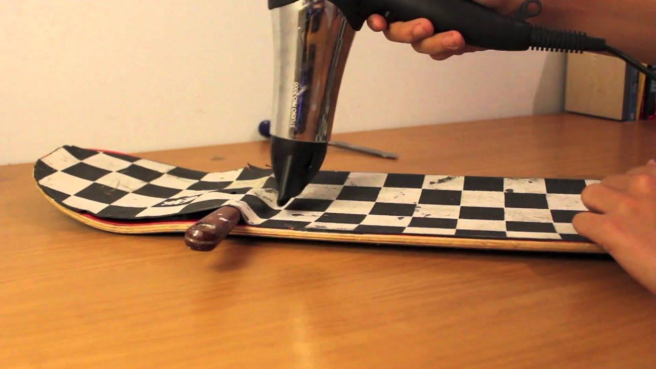 Hd How To Remove Griptape From Skateboard Longboard