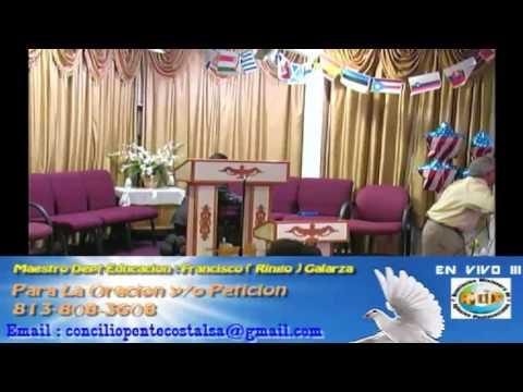 Culto Evangelistco Concilio Pentecostal Senda Antigua AMIP Tampa Bay. - 05-15-2016
