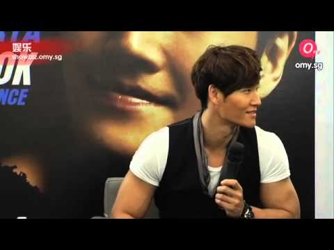 Singapore Fanmeeting Interview - Kim Jong Kook shares his keep fit secrets