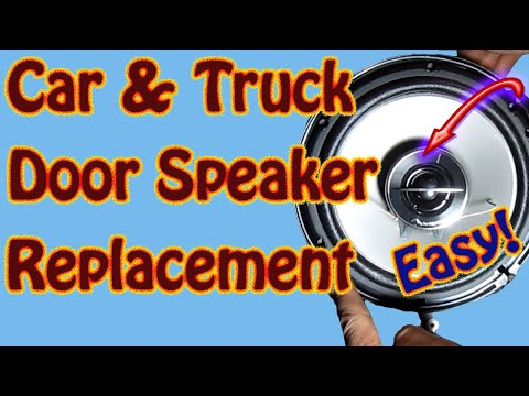 DIY Rear Door Speaker Replacement - Pioneer TS G1644R 6.5