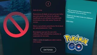 500.000 CONTAS SERÃO BANIDAS EM BREVE?   Pokémon GO