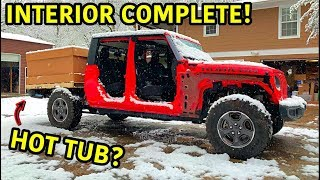 Rebuilding A Wrecked 2020 Jeep Gladiator Rubicon Part 8