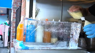 10 FROZEN DESSERTS in NYC Around the World | New York City Dessert Tour
