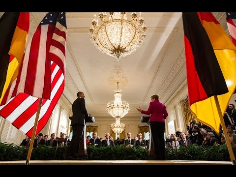President Obama Hosts Chancellor Merkel at the White House