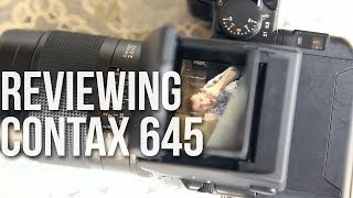 Contax 645 Medium Format Camera Review - CGN Tech IT [EP3]