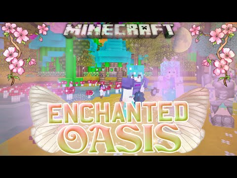 Minecraft: Enchanted Oasis more Pumpkin Carving! 42 video