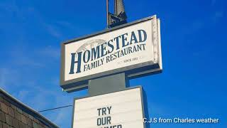 Brunch at Homestead in Cushing Oklahoma.