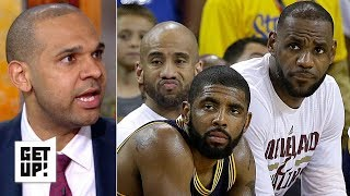Kyrie ignored the Cavs during title run, let the Celtics down in their exit - Jared Dudley | Get Up!