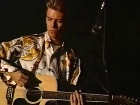 DAVID BOWIE - I CAN'T READ - LIVE 1992 - 480p