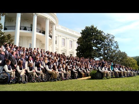 Go behind the scenes and hear from Olympians and Paralympians as President Barack Obama and First Lady Michelle Obama host the 2012 United States Olympic and...