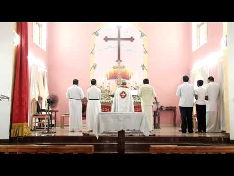 Mar Thoma Church Arthat Holy Qurbana By Rev.zacharia John Part 1 video