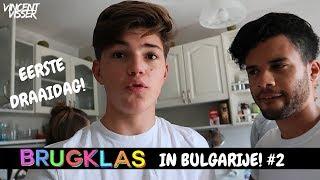 EERSTE DAG DRAAIEN IN BULGARIJE! BRUGKLAS IN BULGARIJE #2 | Vincent Visser