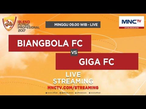 Biangbola FC VS Giga FC - Blend Futsal Profesional 2017