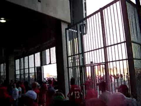NFC Championship Game Entrance