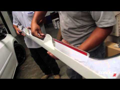 INSTALATION VIDEO - BODY KIT Z TYPE