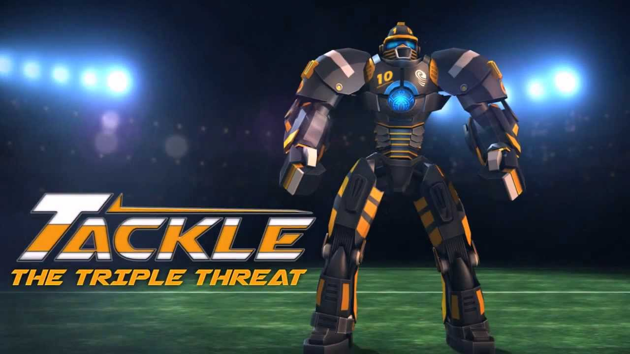 real steel introducing tackle the triple threat
