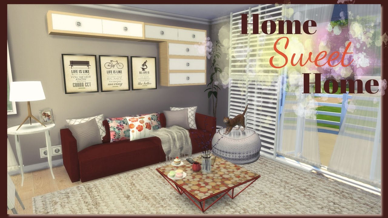 Sims 4 - Home Sweet Home (House + Mods for download) Part1