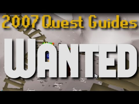 Runescape 2007 Quest Guides: Wanted