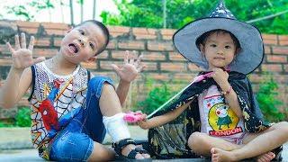 Trò Chơi Phù Thủy Tốt Bụng Học Làm Bác Sĩ Cứu Người - Bé Nhím TV - Đồ Chơi Trẻ Em Thiếu nhi