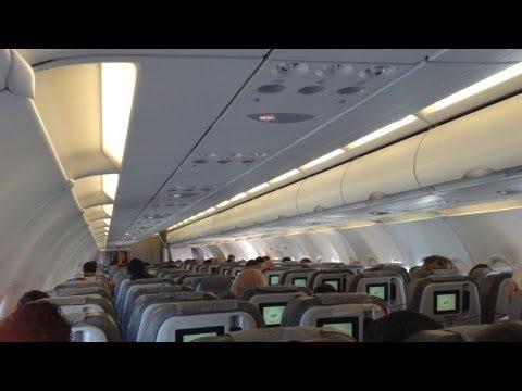 Rome (FCO) to Venice (VCE) Alitalia Airbus a319