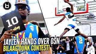 Jaylen Hands DUNKS OVER OSN & Wins 2017 Ballislife All American Dunk Contest Pres By Eastbay!!