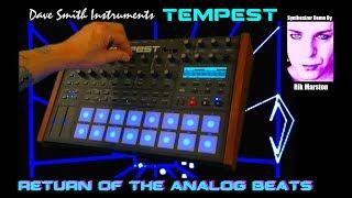 Dave Smith Tempest Return of the Analog Beats Drum Machine Synthesizer Rik Marston