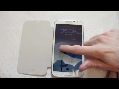 Galaxy Note 2 Flip Cover Androidizen