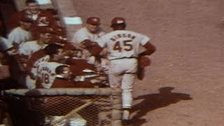 1967 WS Gm7: Bob Gibson homer gives Cards 3-0 lead