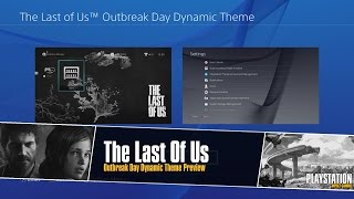 The Last Of Us Outbreak Day Dynamic Theme Preview