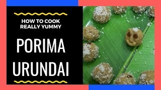 Porima Urundai// Sweet Rice balls// Pongal special// The Banana Leaf