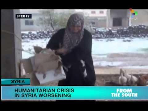 Syria: Humanitarian crisis worsening