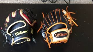 wilson vs rawlings I am most likely going to play high school baseball next year i want a glove that will last all four years should i get a wilson a2k or rawlings also if.