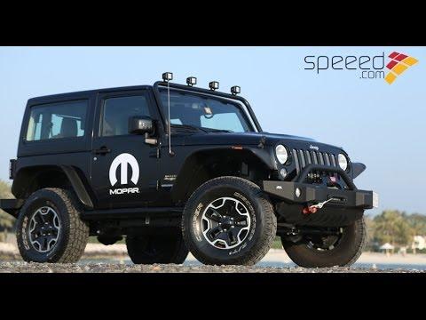 Jeep Sahara 2014 >> Jeep Wrangler Sahara Mopar 2014 جيب رانجلر صحارى - YouTube