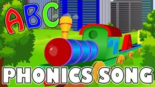 Phonics Sounds of Alphabets | The Train | ABC Song | Nursery Rhymes | kids songs