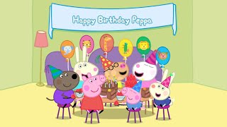 Peppa Pig Peppa Party - Games Gifts Dancing Music Cakes Pastry Card Fun Learning Adventures for Kids