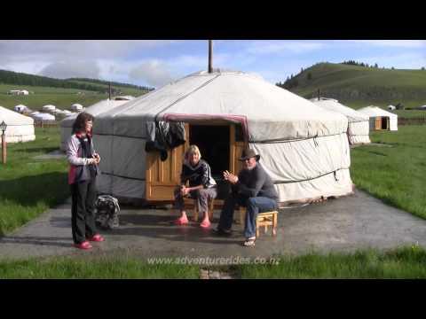 Mongolian Motorbike Tour and Adventure Travel on Yamaha WR's. 2011